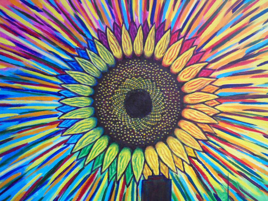 Black Sun Detail - Sun